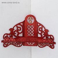 Иконостас № 13, цвет красное дерево, 30х20,5х46 см