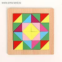 Головоломка «Строй фигуры и узоры», треугольники