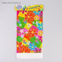 Скатерть «Цветочки», 108х180 см