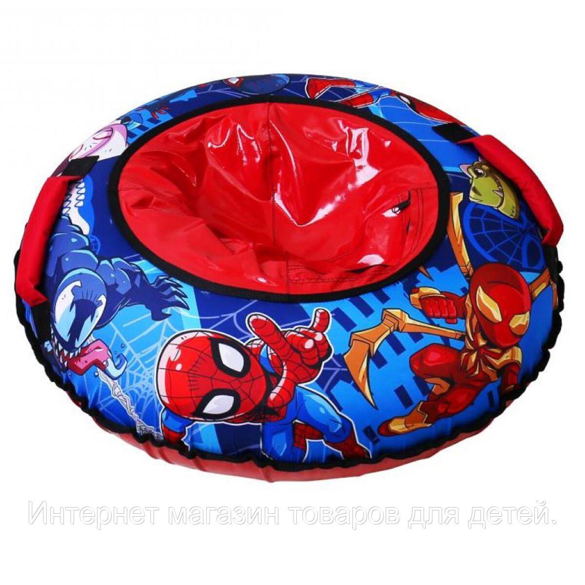 НИКА Игрушка Тюбинг с круговым дизайном MARVEL Человек-паук