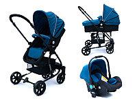 Детская коляска Tomix Bloom 3 в 1 Blue