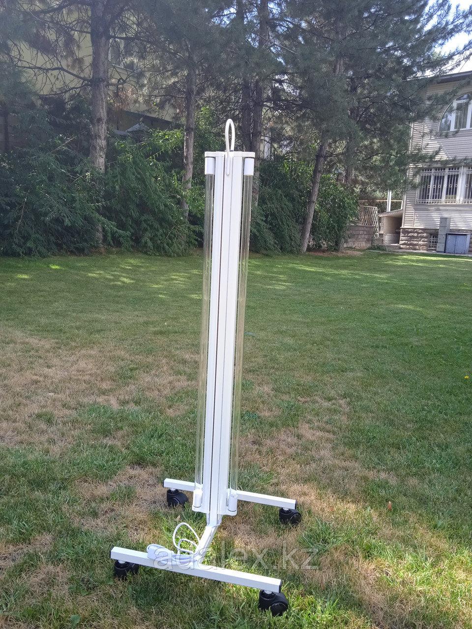 Облучатель.Передвижная двухламповая кварцевая лампа - фото 6