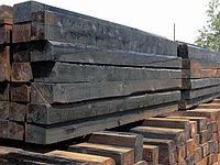 Шпалы деревянные пропитанные тип 1