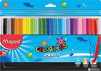 Фломастеры Maped Colorpeps набор 24 цвета