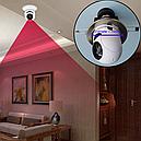 WiFi PTZ камера для дома с функцией панорамирования и трансляции на сотовый телефон, фото 3