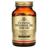 Solgar, масло примулы вечерней, 1300 мг, 60 капсул