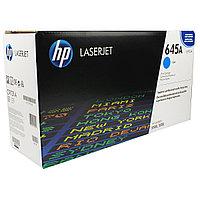 Оригинальный принт картридж HP 645A C9731A Голубой (cyan)