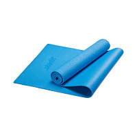Гимнастический коврик для йоги, фитнеса Starfit FM-101 PVC blue (173x61x0,5)