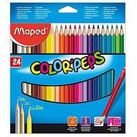 "Набор цветных карандашей ""Maped"" цвета 24"