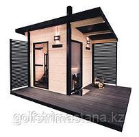 Сауна Harvia Solide Outdoor SLD01PS с дровяной печью