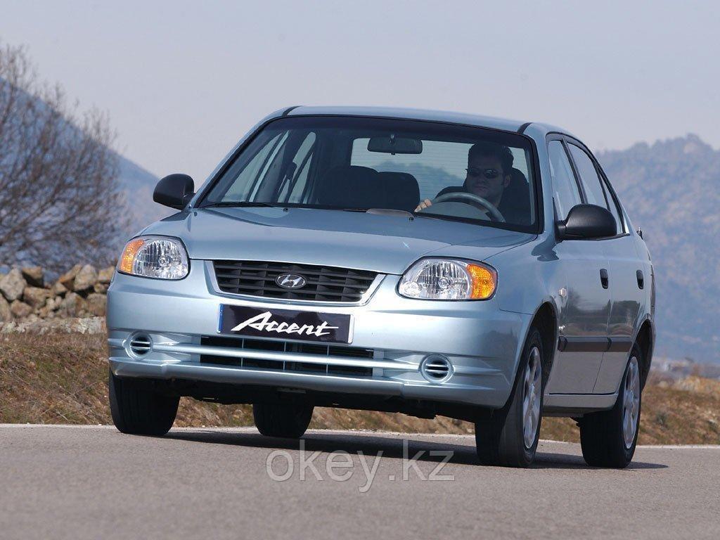 Тормозные колодки Kötl 3331KT для Hyundai Accent II седан (LC) 1.5, 2000-2005 года выпуска.