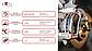 Тормозные колодки Kötl 3336KT для Toyota Corolla Verso I рестайлинг (ZDE12_, CDE12_) 2.0 D-4D, 2001-2004 года, фото 8