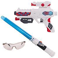Fun Red: набор: бластер, меч и очки