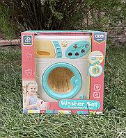 Детская игрушечная стиральная машина
