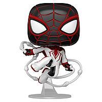 Фигурка Funko POP! Bobble Marvel Games Miles Morales Miles T.R.A.C.K. Suit 50153