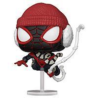 Фигурка Funko POP! Bobble Marvel Games Miles Morales Miles Winter Suit 54692
