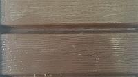 Софит виниловый коричневый