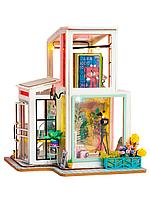 Деревянные 3D пазлы Дома миниатюры Time Studio