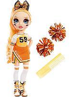 Poopsie: Кукла Rainbow High Чирлидеры - Поппи Роан, 28 см