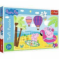 """TREFL: пазл Peppa Pig """"Свинка Пеппа на каникулах"""", 24 дет."""