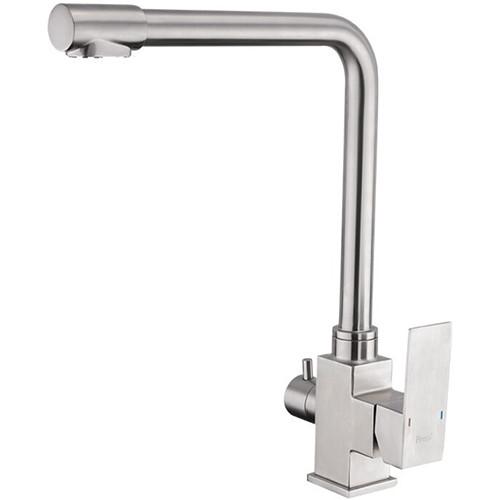 Смеситель для кухни Frap F43899-2 c каналом для фильтрованной воды