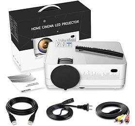 Смарт проектор HQ4 (3000 люмен) (Android / WiFi / Bluetooth / 3D)