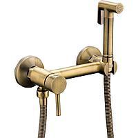 Смеситель с гигиеническим душем FRAP, F7503-4, фото 1