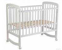 Кроватка детская Polini kids Simple 304, белый