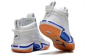 "Баскетбольные кроссовки Air Jordan XXXVI ( 36 )  "" White\Blue "", фото 2"