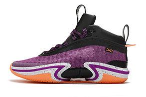 """Баскетбольные кроссовки Air Jordan XXXVI ( 36 )  """" Violet """", фото 2"""