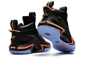 """Баскетбольные кроссовки Air Jordan XXXVI ( 36 )  """" Black\Orange """", фото 2"""