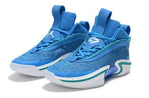 """Баскетбольные кроссовки Air Jordan XXXVI ( 36 )  """" Blue """", фото 3"""
