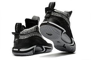 """Баскетбольные кроссовки Air Jordan XXXVI ( 36 )  """" Black\Scales """", фото 2"""