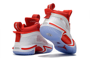 "Баскетбольные кроссовки Air Jordan XXXVI ( 36 )  "" White\Red "", фото 2"