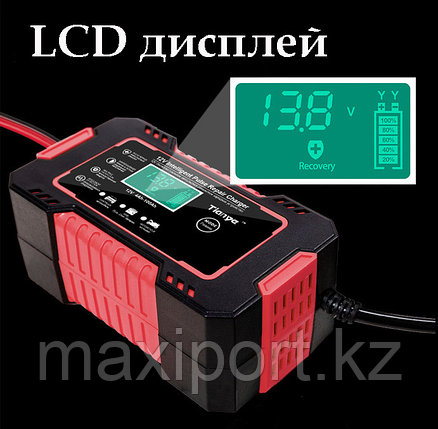 Импульсное зарядное устройство для аккумуляторов 12 вольт Авто и Мото (поддержка гелевых), фото 2