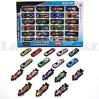 Набор гоночных машинок 24 модельки Alloy car NO 024