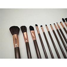 Профессиональный набор кисточек для макияжа в чехле 12 шт. День Матери!, фото 3