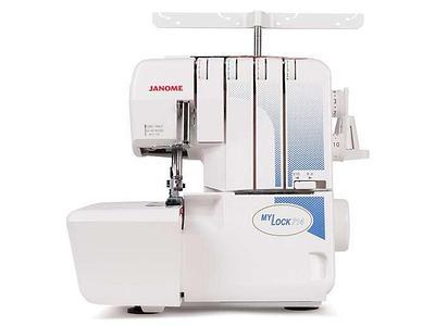 Оверлок, швейная машина JANOME MYLOCK 714 белый