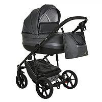 Детская коляска Pituso Luna 2 в 1 Кожа Grey