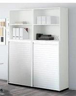 Офисный шкаф с роллетой, фото 1