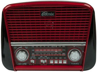 Радиоприемник портативный Ritmix RPR-050R, красный