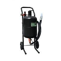 Передвижной пескоструйный аппарат напорного типа (бак 19л, 170-566л/мин типа (бак 19л, 170-566л/мин, 4-8,5атм)