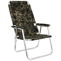 Кресло-шезлонг 4 'Медведь', до 110 кг, МИКС