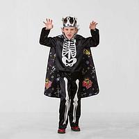Карнавальный костюм 'Кощей Бессмертный сказочный', сатин, размер 28, рост 110 см