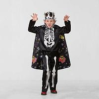 Карнавальный костюм 'Кощей Бессмертный сказочный', сатин, размер 32, рост 122 см