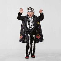 Карнавальный костюм 'Кощей Бессмертный сказочный', сатин, р. 34, рост 134 см