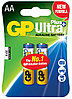 Батарейки LR6 AA 2 шт GP Batteries Ultra Plus alkaline