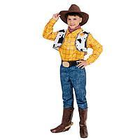 Карнавальный костюм 'Ковбой Вуди', р.32, рост 128 см
