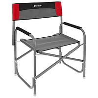 Кресло директорское NISUS MAXI, цвет серый/красный/чёрный