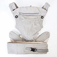 Рюкзак-кенгуру 'Кнопка', цвет серый